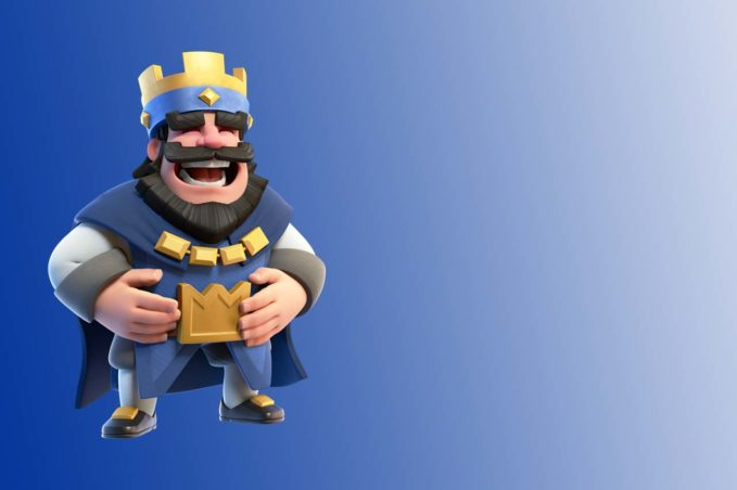 King Laughing in Clash Royale