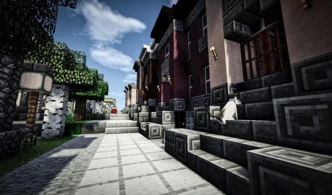 Minecraft Maps - City Street