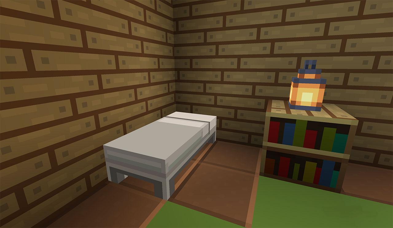 Minecraft - White Bed