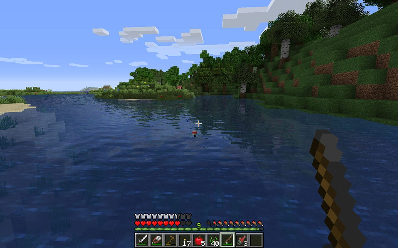 Minecraft Fishing Guide