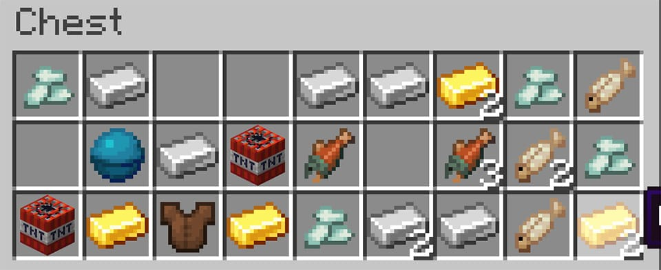 Contents of a Buried Treasure Chest