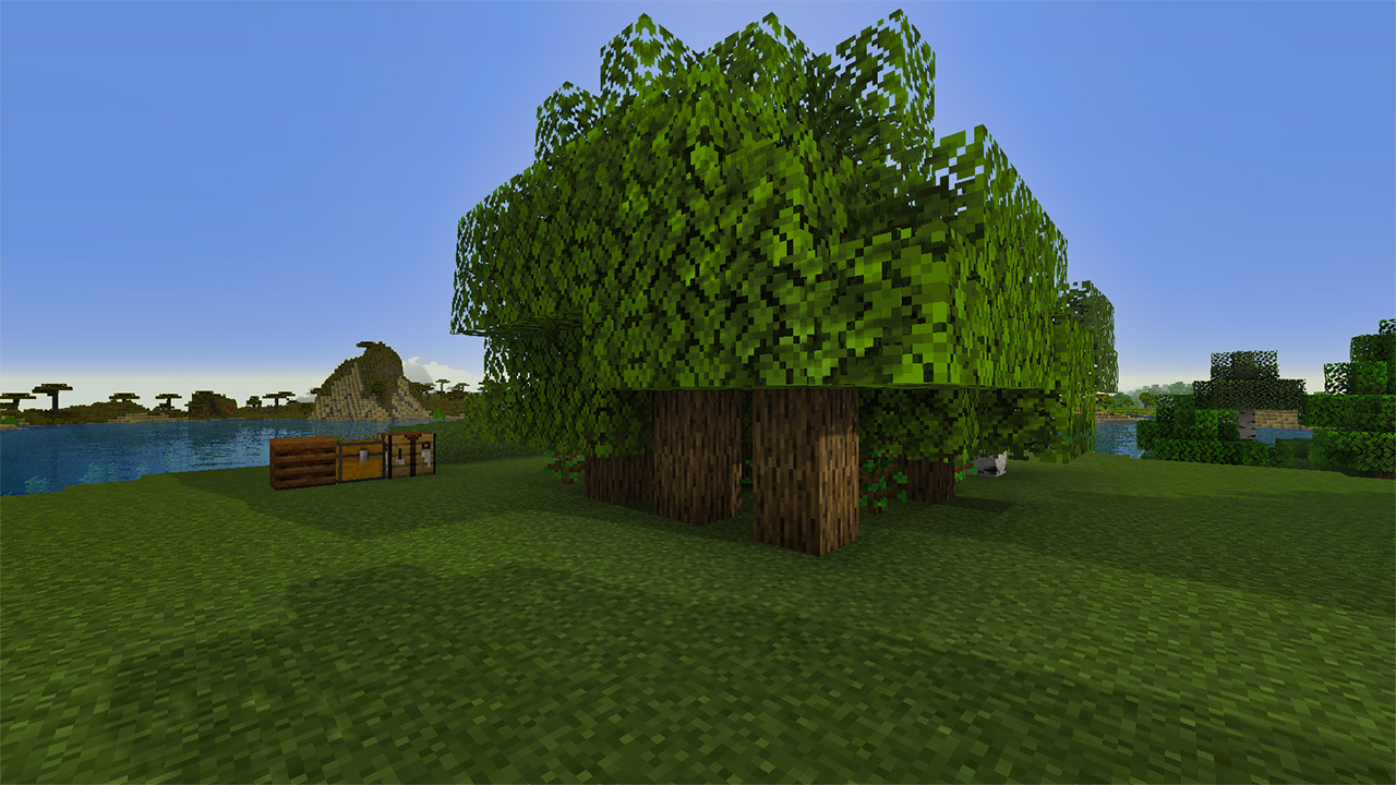 Tree Farm - Side View