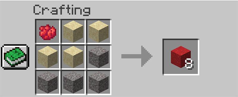Crafting concrete powder