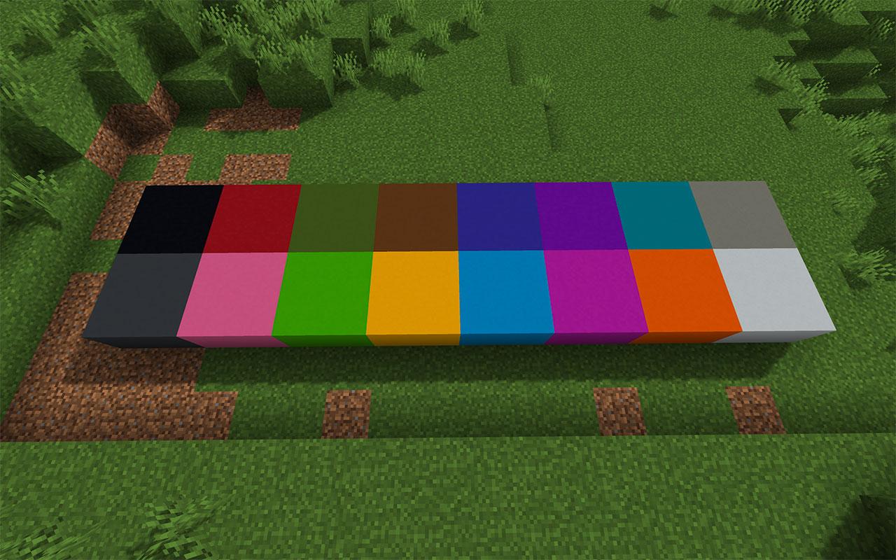 Minecraft Concrete Blocks